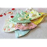 Children's Mask - reusable, breathable, kids mask, for school, child mask - with breathing valve… (6 Pack)