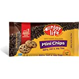 Enjoy Life Semi-Sweet Chocolate Mini-Chips, Gluten-Free, Dairy-Free, Nut-Free + Soy-Free, Vegan + Paleo, 10 Ounce Bags (Pack of 6)