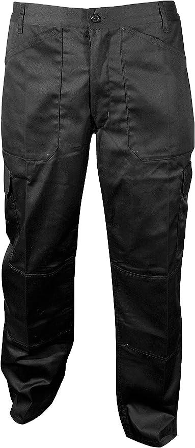 Blackrock Mens Workman Heavy Duty Cargo Work Short Combat Pants Utility Trouser