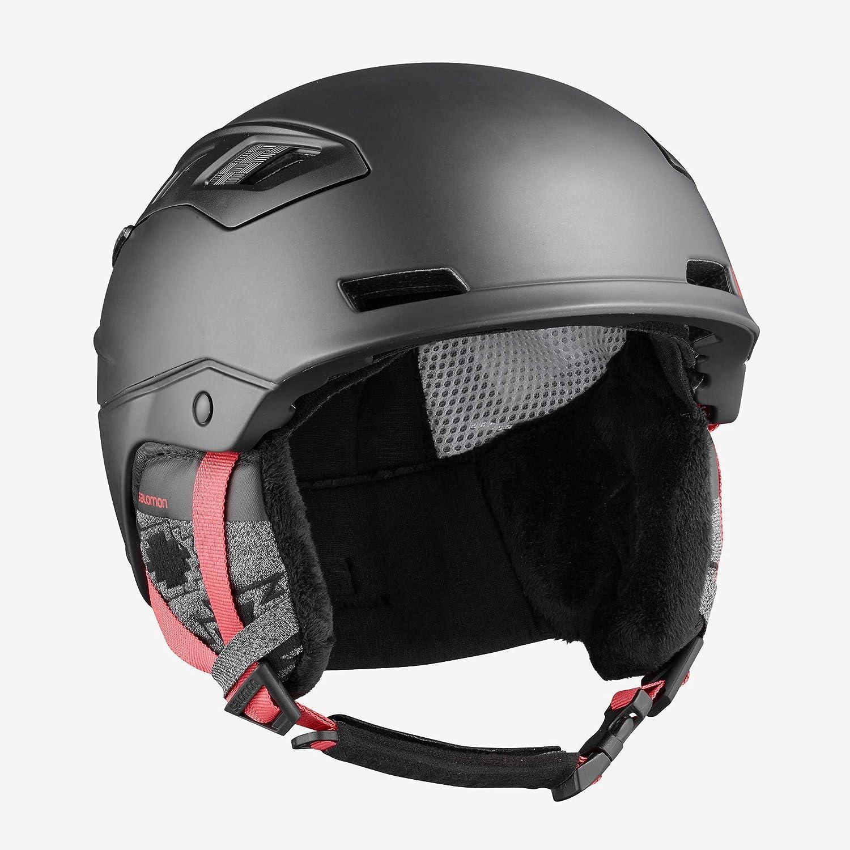 Medium//56-59cm White Pop Salomon QST Charge W Helmet