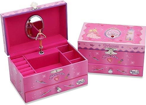 Lucy Locket Joyero Musical con Princesa niños - Caja de música ...