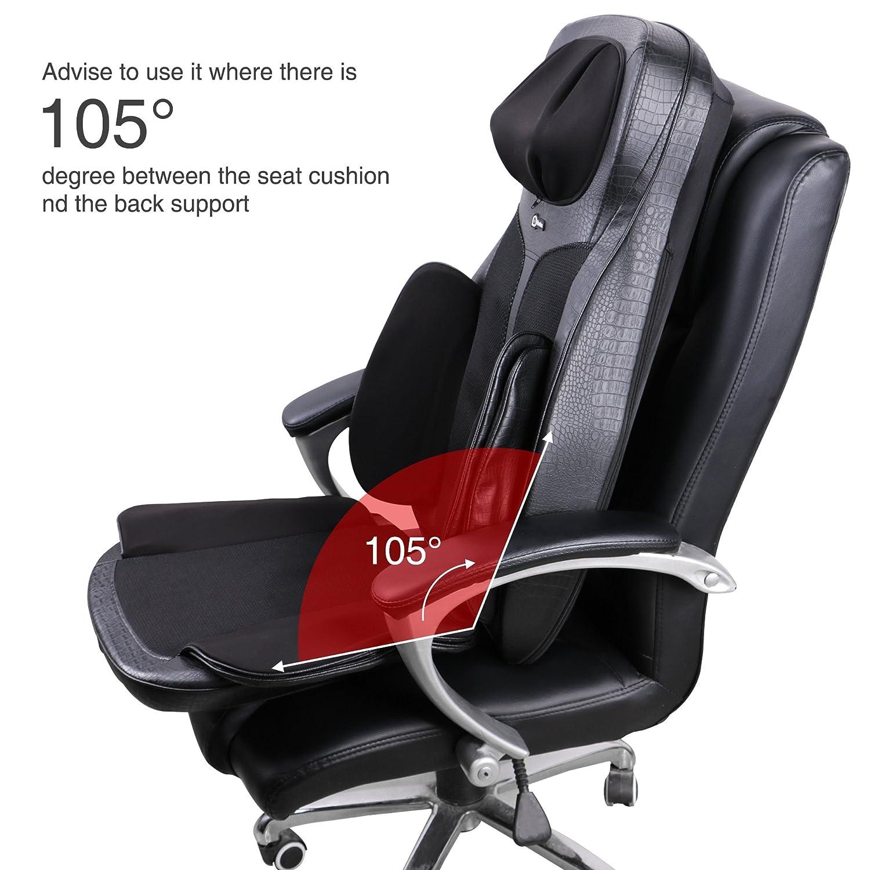 amazon com boolex shiatsu neck back massage seat cushion with