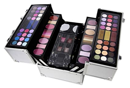 f7e92e8ac COLOR TALLER Box 85 de plata de productos de maquillaje: Amazon.es ...