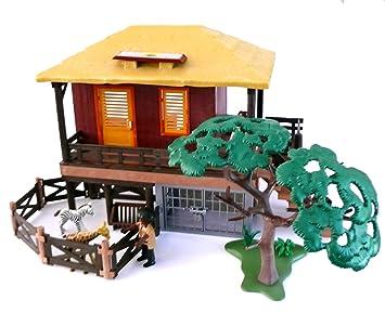 Playmobil 4826 Wildtierpflegestation Oambati Safari Dschungel
