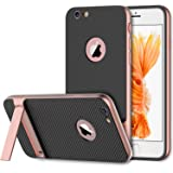 iPhone 6s Case, JETech Slim-Fit iPhone 6 Case with Self Stand for Apple iPhone 6 6s 4.7 (Rose) - 3381