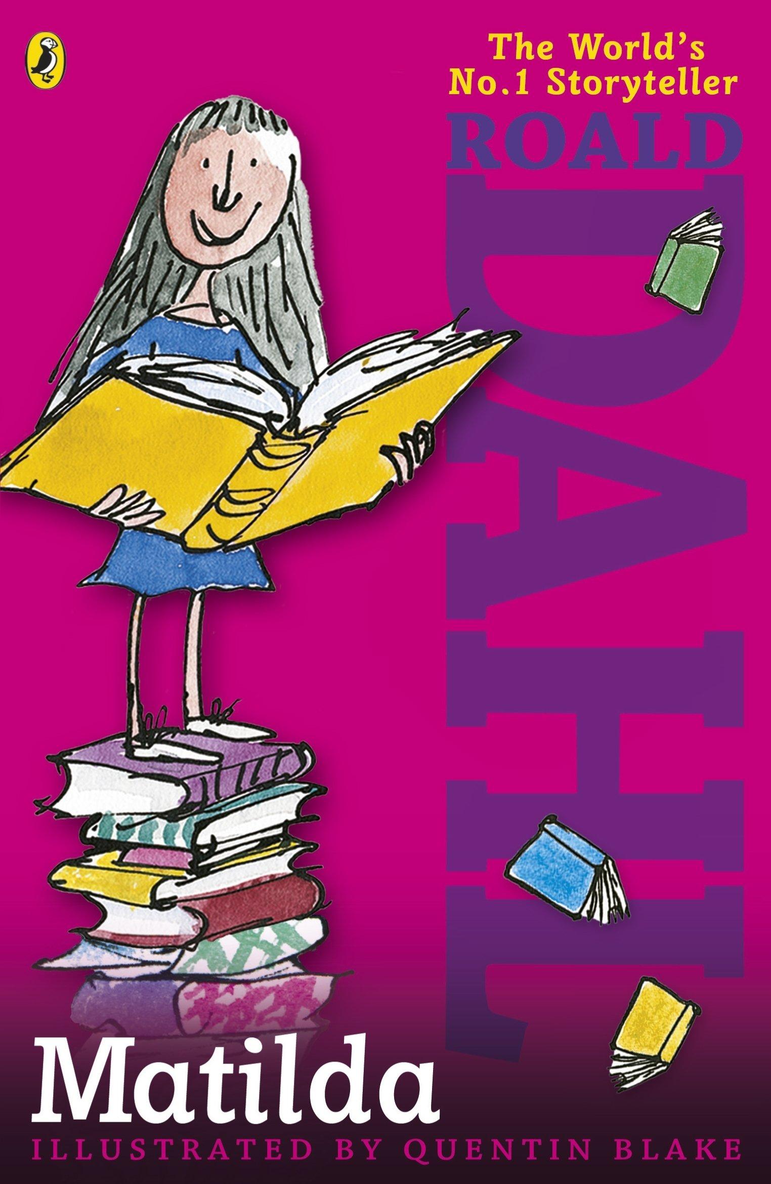 Matilda: Amazon.co.uk: Dahl, Roald, Blake, Quentin: Books