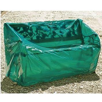 Maillessac 04764 Housse Pour Banc De Jardin Vert 150 Cm Amazonfr