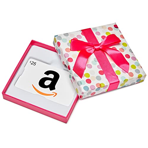 $25 Gift Card in a Dot Box (Classic White Card Design) image link