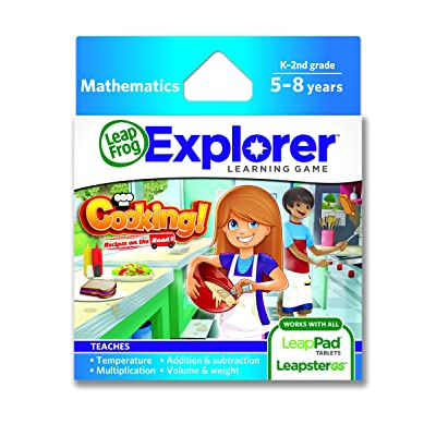LeapFrog Cooking Recipes On The Road Learning Game (works with LeapPad Tablets and Leapster GS): Toys & Games