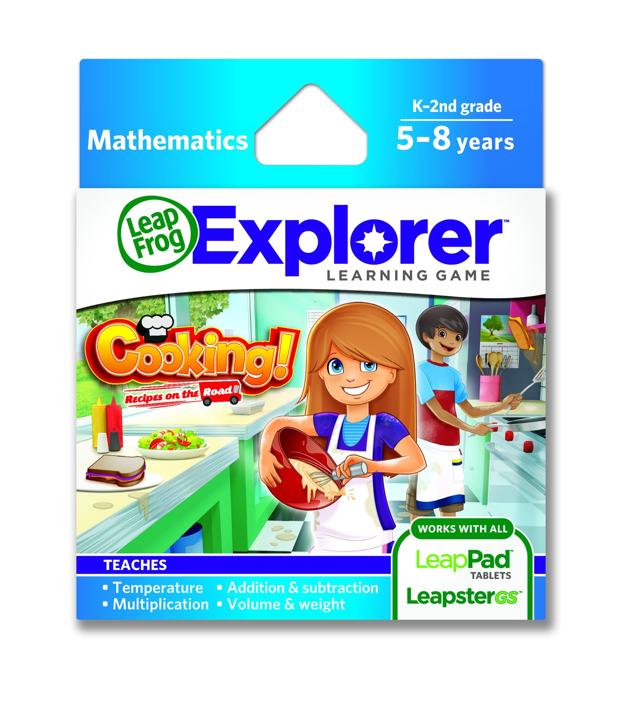 LeapFrog Cooking Recipes On The Road Learning Game (works with LeapPad Tablets and Leapster GS) by LeapFrog
