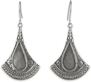 NOVICA Taxco .925 Sterling Silver Dangle Earrings, Mexican Fantasy'