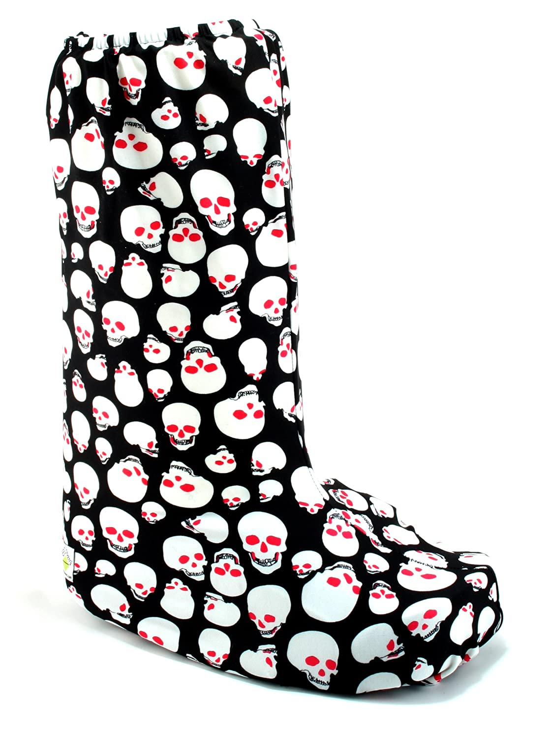 9296083215de4a Amazon.com: My Recovers Walking Boot Cover for Fracture Boot, Fashion Cover  in Skulls, Tall Boot, Made in USA, Orthopedic Products Accessories  (X-Small): ...