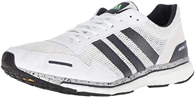 finest selection 138d4 a0151 adidas Mens Adizero Adios 3 Running Shoe, Legend InkShock Limehi-