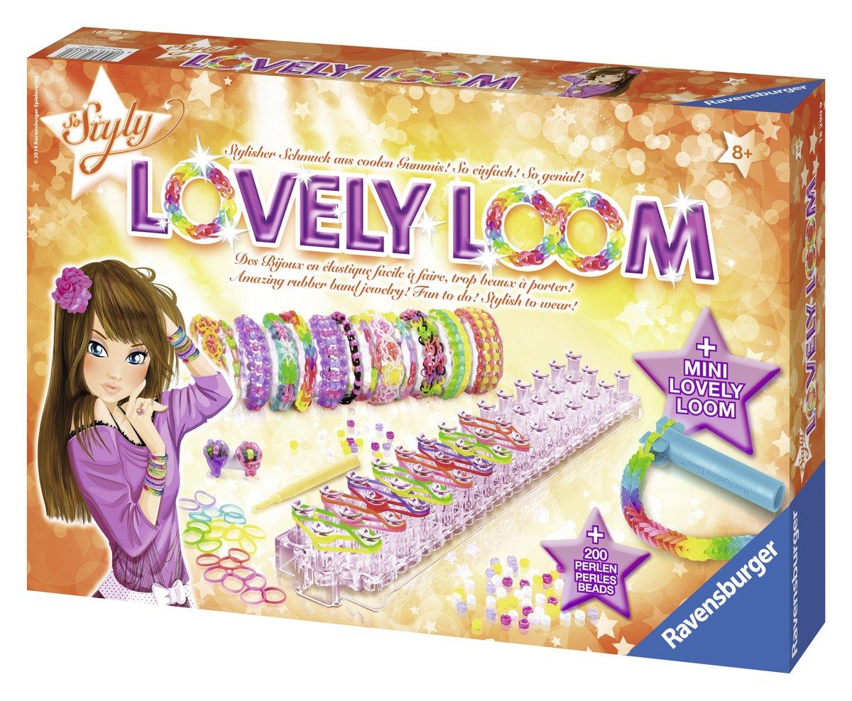 Ravensburger 18290 - So Styly: Lovely Loom 4005556182909
