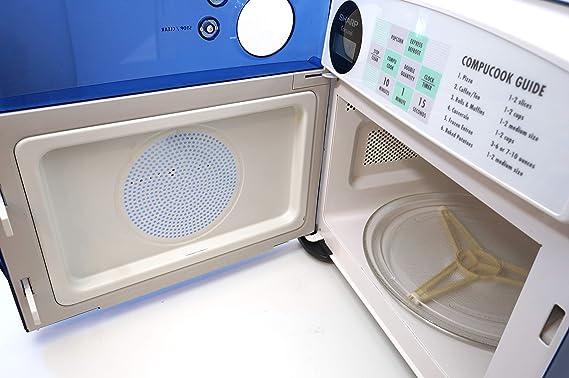 Amazon.com: Sharp r-120db Media Pinta Horno de microondas ...