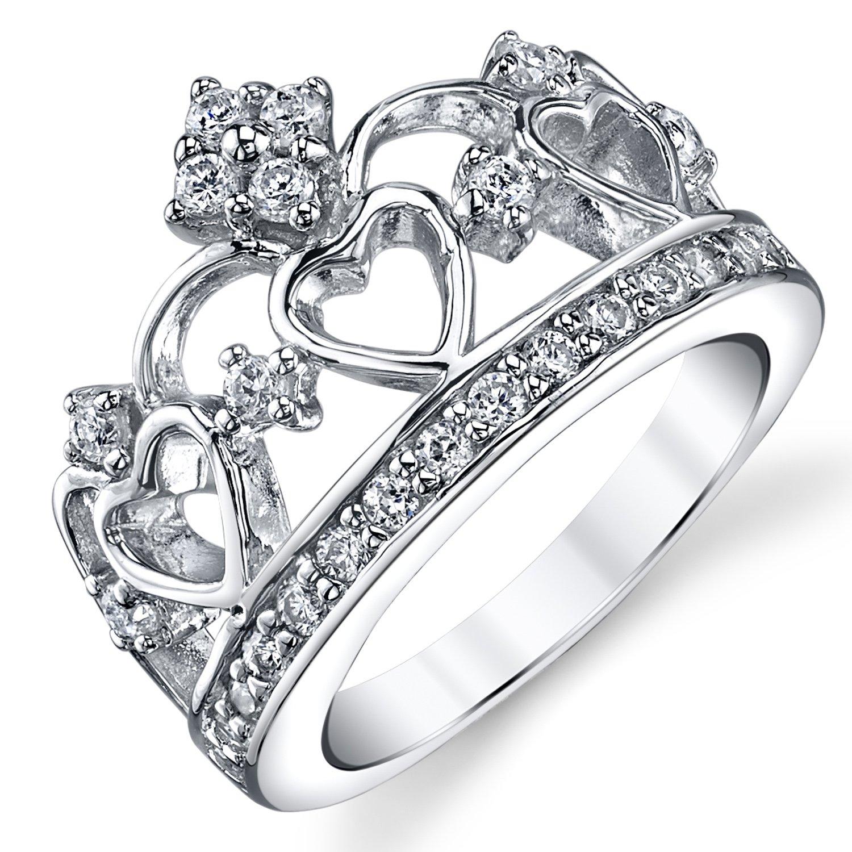 Amato Anelli Corona Re E Regina: Ultimate metals? anello in argento a  ST46