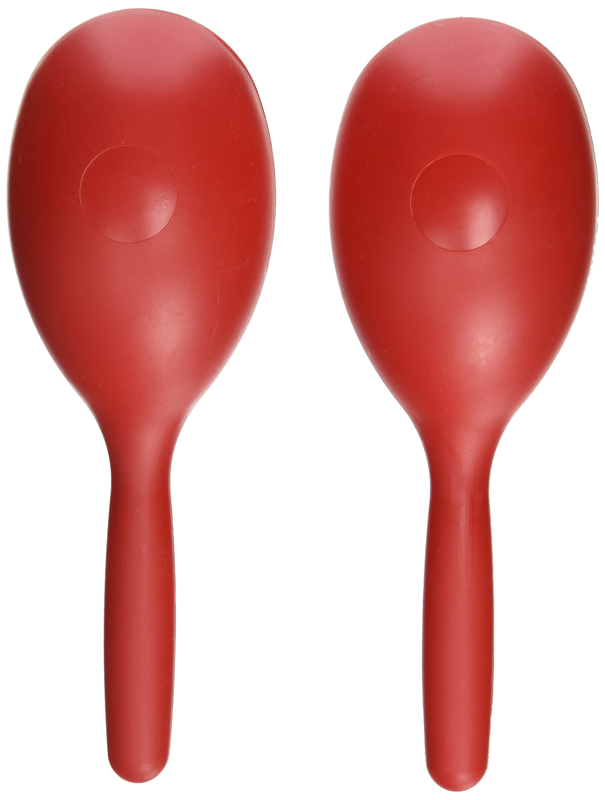 D'Luca Percussion Red Fish Style Plastic Maracas M20-RD by D'Luca