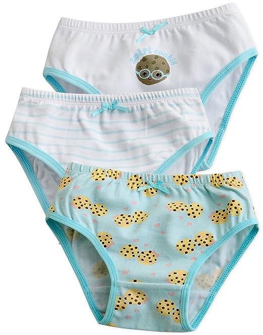 Vaenait baby 2 – 7 años niños niñas ropa interior Slip 3-Pack Set Hello