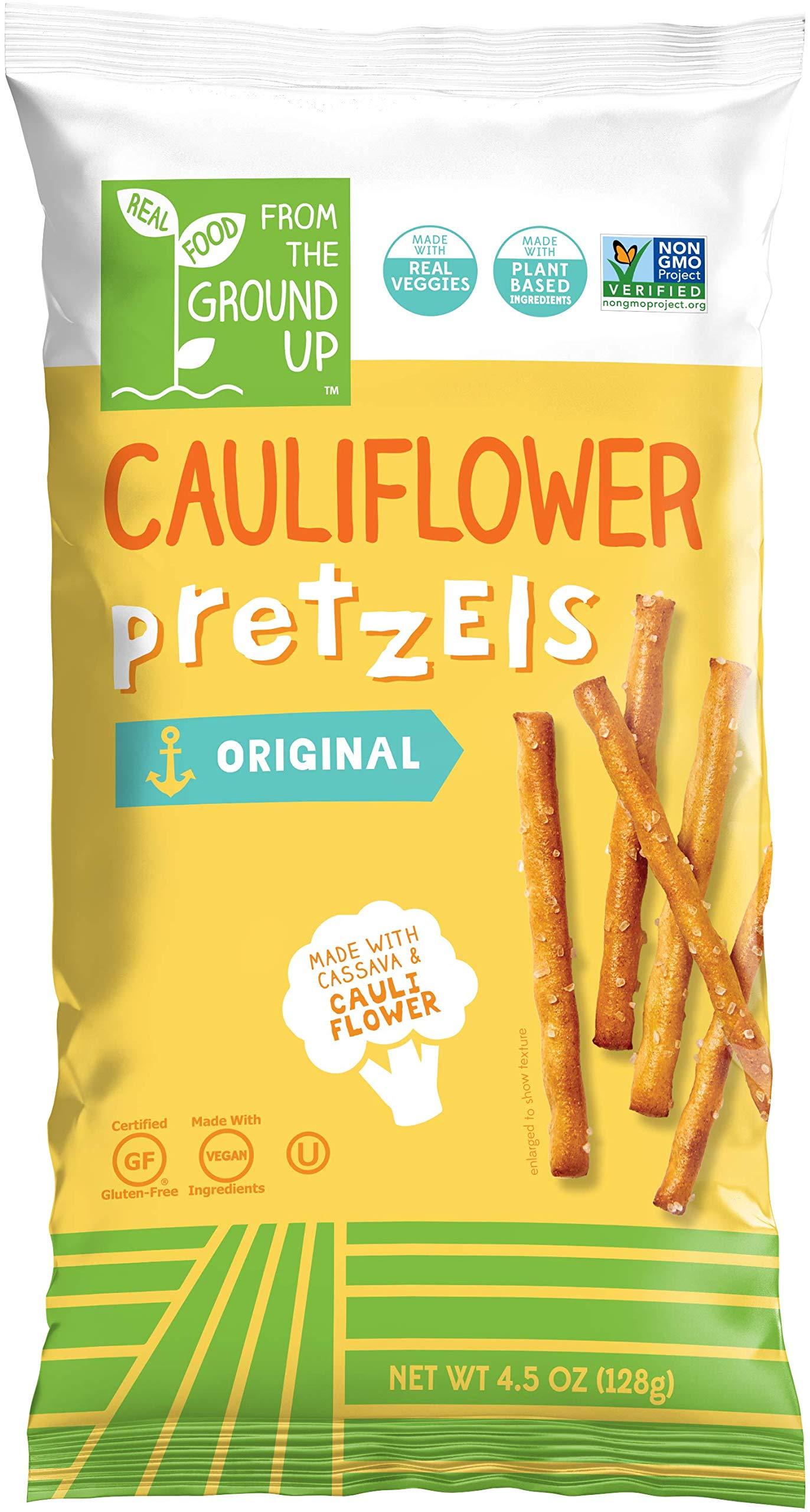 Amazon.com : From the Ground Up Cauliflower Crackers