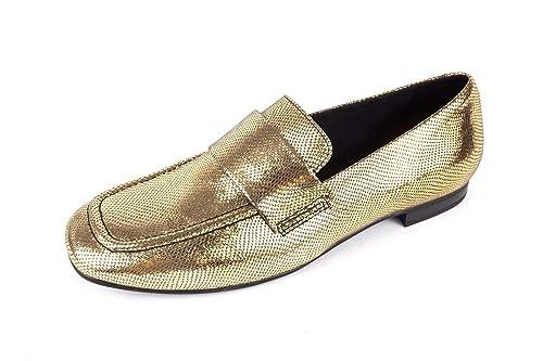 Vagabond VB-295-4404-083 - Mocasines de Piel Lisa para Mujer Dorado Dorado 4404-083, Color Dorado, Talla 37 EU: Amazon.es: Zapatos y complementos