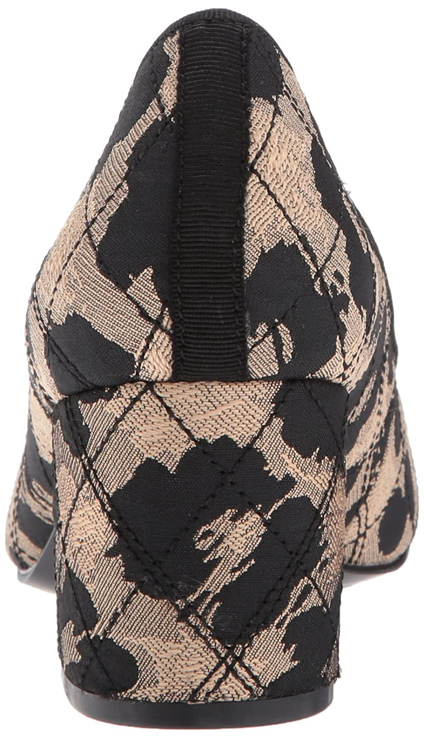 Nine West B(M) Women's Ceciley Pump B06X6GG5FD 9 B(M) West US|Natural Multi/Black Fabric 1f540c