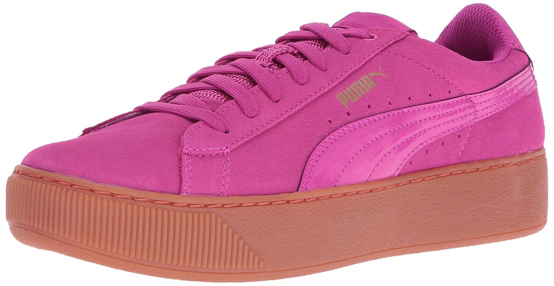 PUMA Women's Vikky Platform Fashion Sneaker B01LPWSLKC 9.5 M US|Rose Violet-rose Violet