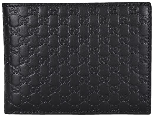 4a24adb73e8 Image Unavailable. Image not available for. Colour  Gucci Men s Leather  Micro GG Guccissima Trifold Wallet 217044 ...