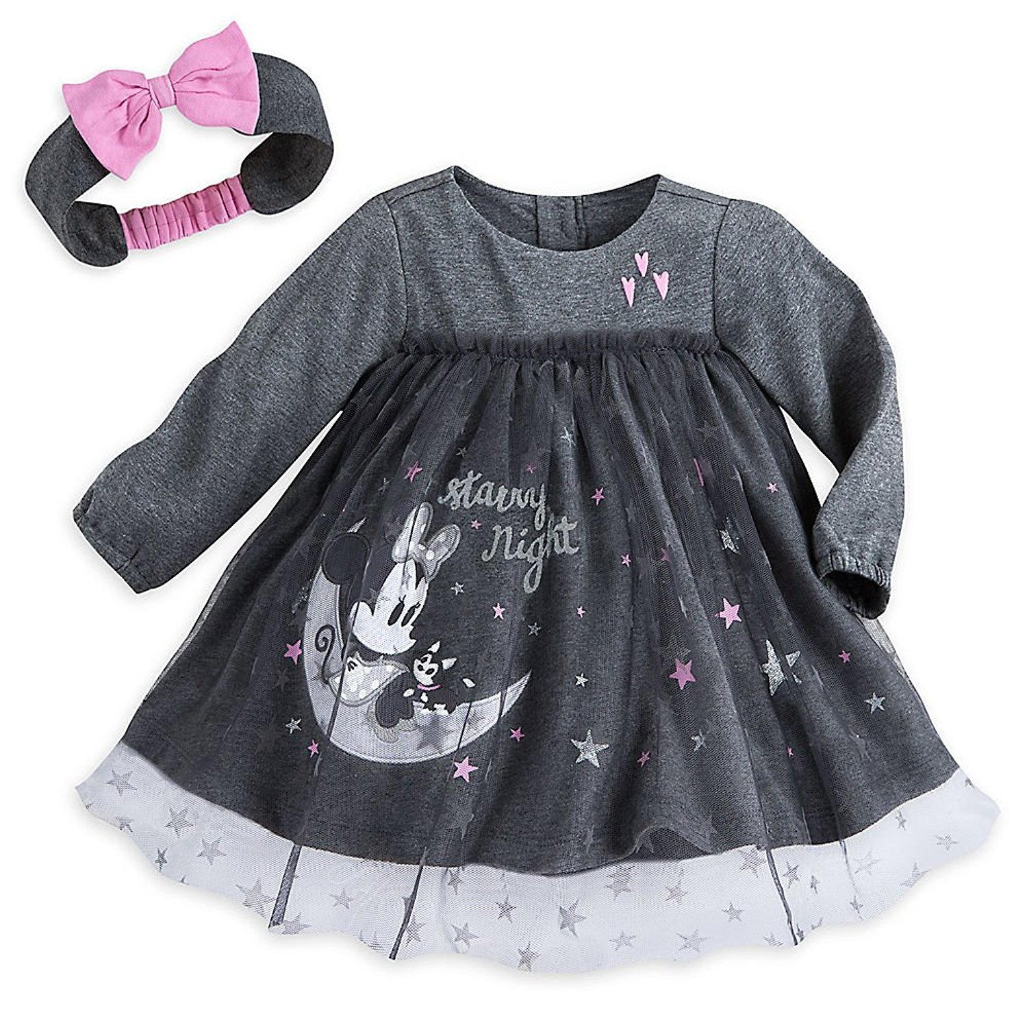 Disney Minnie Mouse Layette Dress for Baby Size 12-18 MO