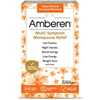 Amberen: Safe Multi-Symptom Menopause Relief. Clinically Shown to Relieve 12 Menopause...