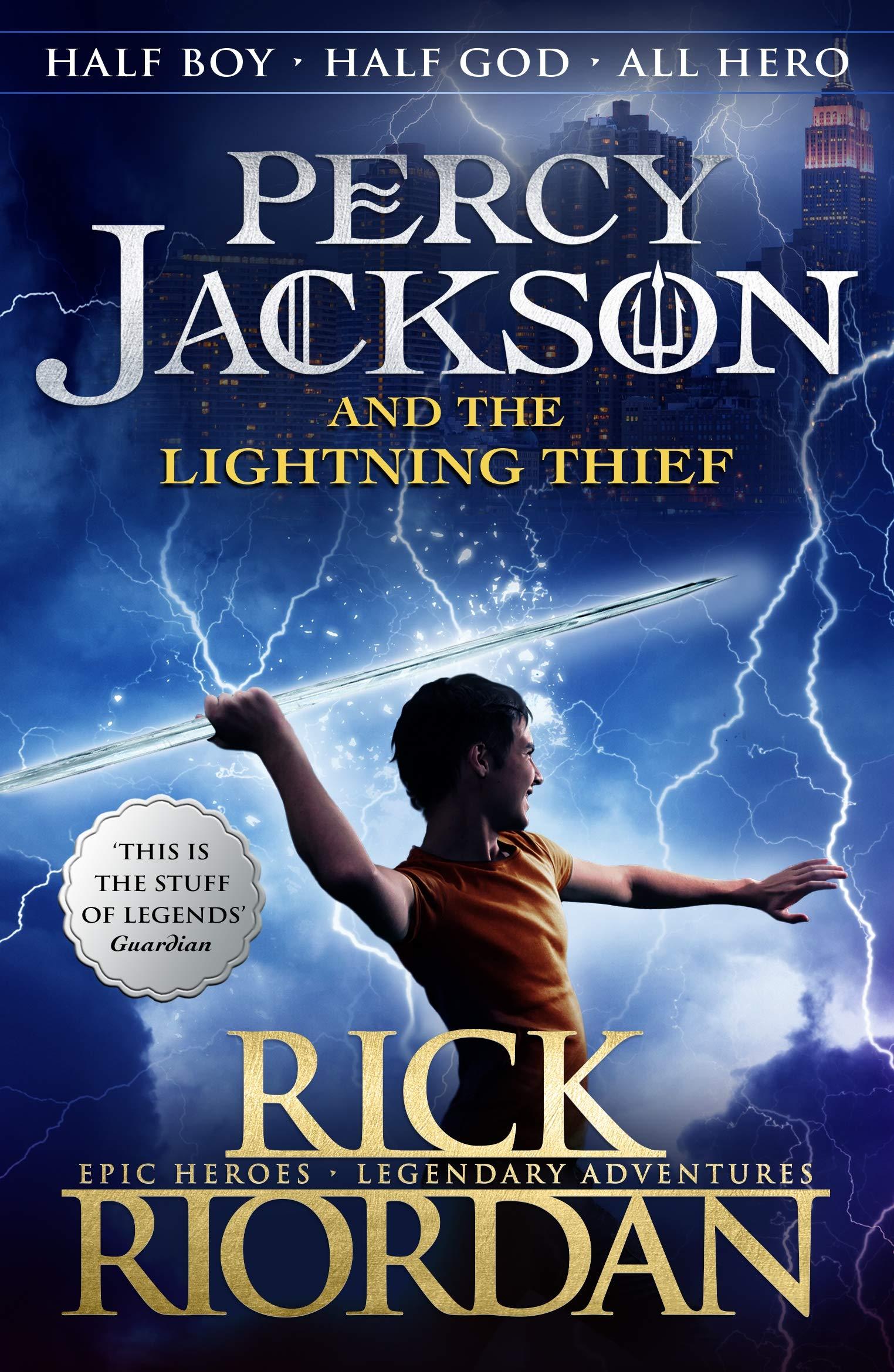 Percy Jackson and the Lightning Thief Book 1 of Percy Jackson:  Amazon.co.uk: Riordan, Rick: Books