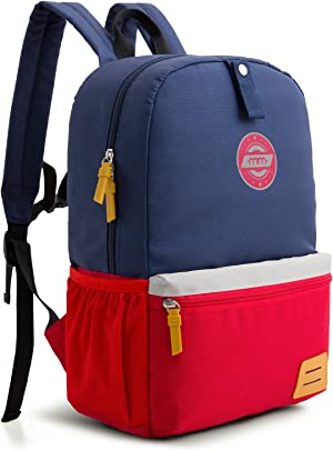 mommore Kids Backpack for Toddler School Bag with Chest Clip Travel Bag 3-7 Years Old