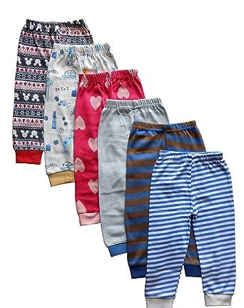 fa8cbba52 Tinchuk Kid's Cotton Pyjamas with Rib Mixed Prints (0-3 Months) - Set