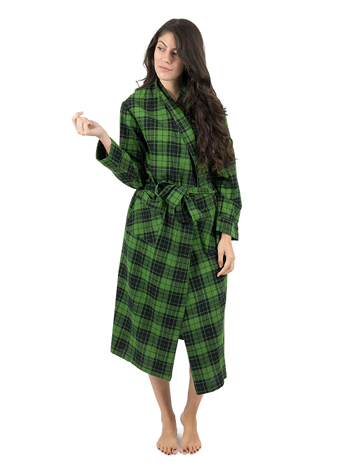 Leveret Womens Flannel Robe Christmas Robe (Size X-Small-XX-Large) at  Amazon Women s Clothing store  a9cc68153