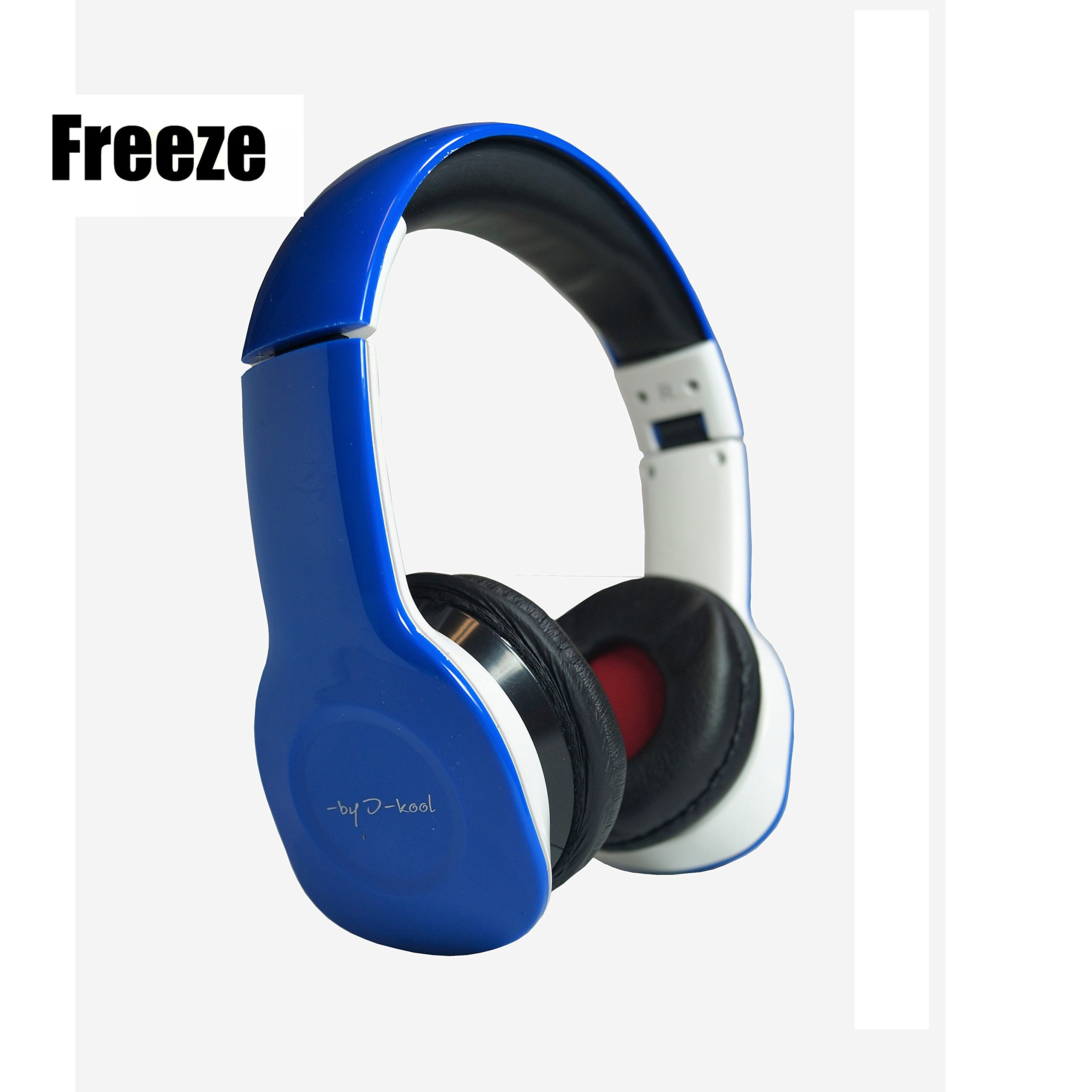 Auriculares Freeze X-treme I-kool Freeze series con Bass Boost Fully fold-able para easy Viaje Detached Aux cable includ