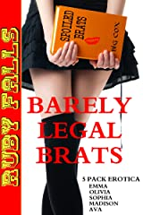 Barely Legal Brats 5 Pack Erotica Kindle Edition