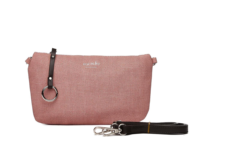 MAMBO DE OTROS MUNDOS Bolsos mujer, bolsos de fiesta y diario, clutch rosa, bolso de tela, bolsos de mano. Bolsos Mambo