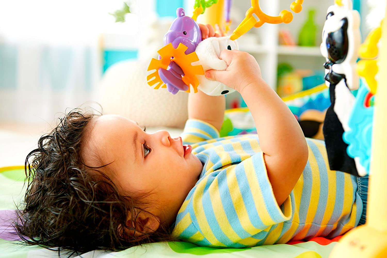 Mattel 25DFP07-3 in 1 Baby Set mit Verstellbarem Reck