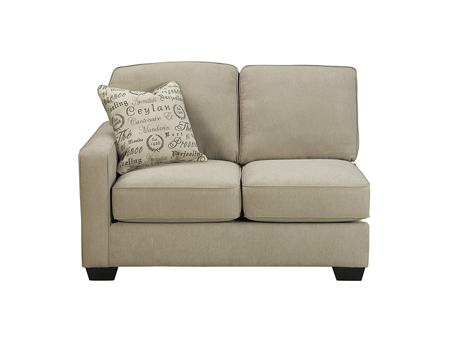 Amazon.com Ashley Alenya 16600-55-67 2PC Sectional Sofa with Left Arm Facing Loveseat Right Arm Facing Sofa Pillows with Print Pattern and Track Arms in ...  sc 1 st  Amazon.com : loveseat sectional sofa - Sectionals, Sofas & Couches