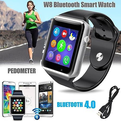 Bositools nuevo portátil W8 smart-watch a prueba de sudor teléfono ...