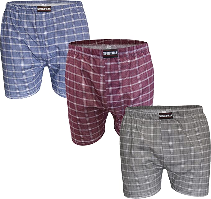 BIOLOOP - Pack de 3 calzoncillos tipo bóxer, 100% algodón, tallas 5 – 13 varios colores 46=X-Large: Amazon.es: Ropa y accesorios
