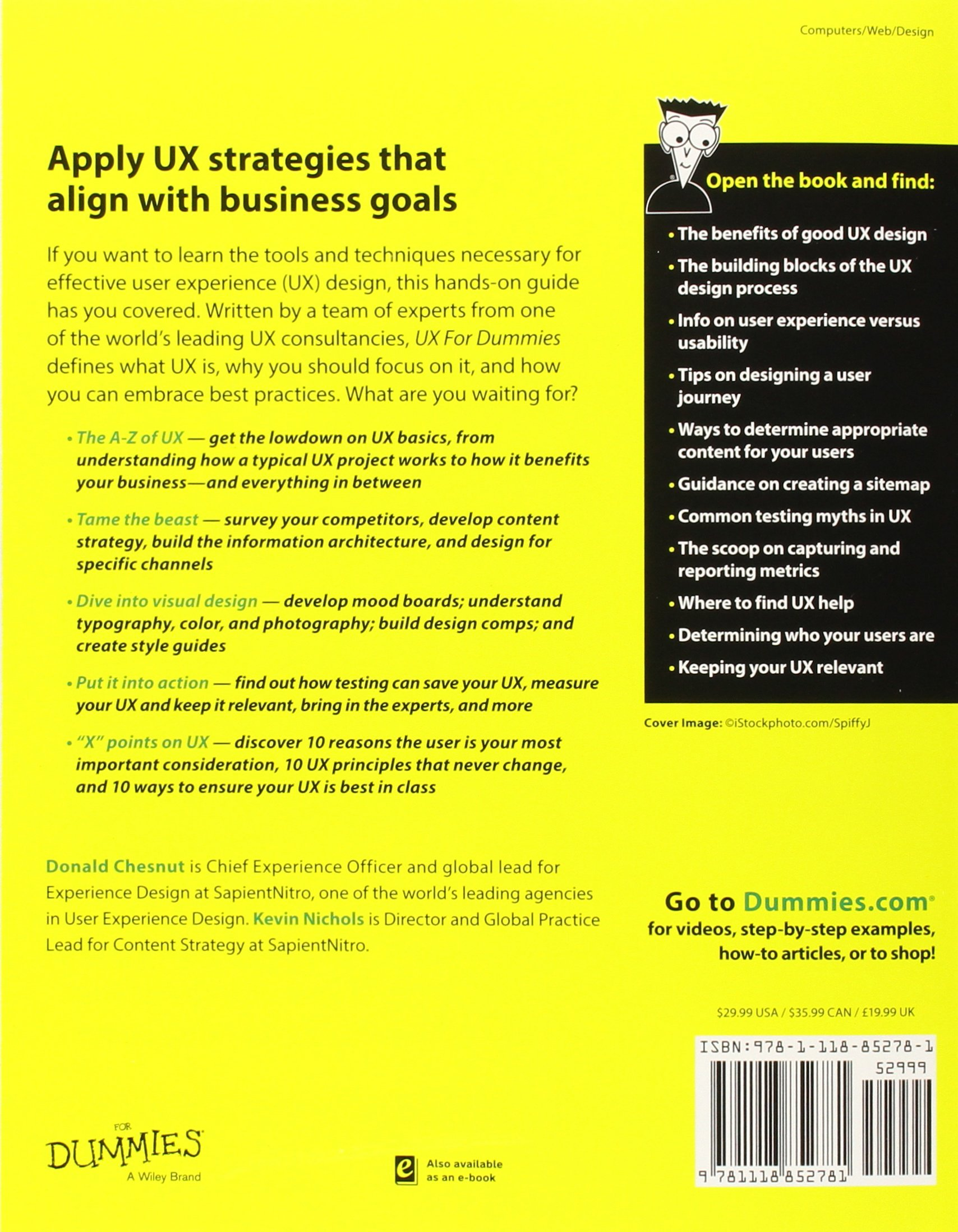 Ux for dummies amazon kevin p nichols donald chesnut books 1betcityfo Image collections