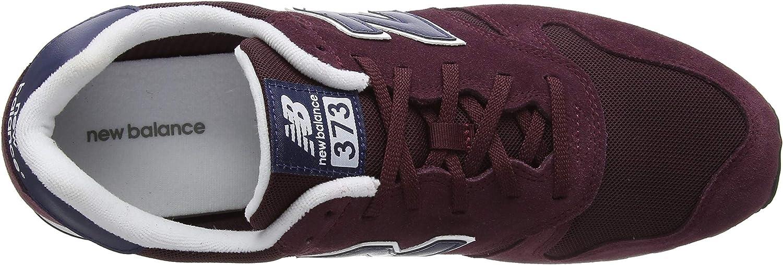 New Balance 373 Zapatillas De Ante Para Hombre Color Rojo 6 5 Us Shoes