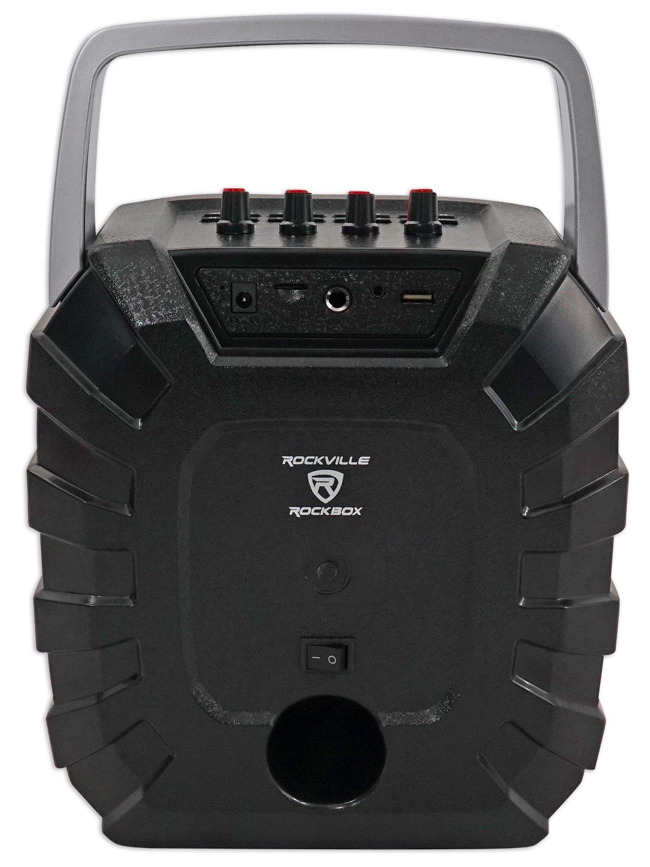 Rockville ROCKBOX 6.5'' 100 Watt Portable Rechargable Bluetooth Speaker w USB/SD by Rockville (Image #6)