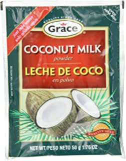Grace Coconut Milk Powder Envelope, 1.76-Ounce (50g) (Pack of 12
