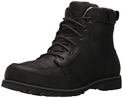 Columbia Men's Chinook Boot Waterproof Uniform Dress Shoe, Black, Black, ...