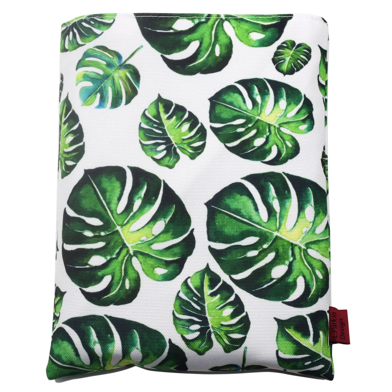 LParkin Book Sleeve Tree Leaves Book Protector Medium 10 Inch X 8 Inch Canvas Book Sleeves Teen Gifts by LParkin