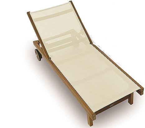 Amazon.com: Royal teca Sundaze Sling chaise – Negro, Blanco ...