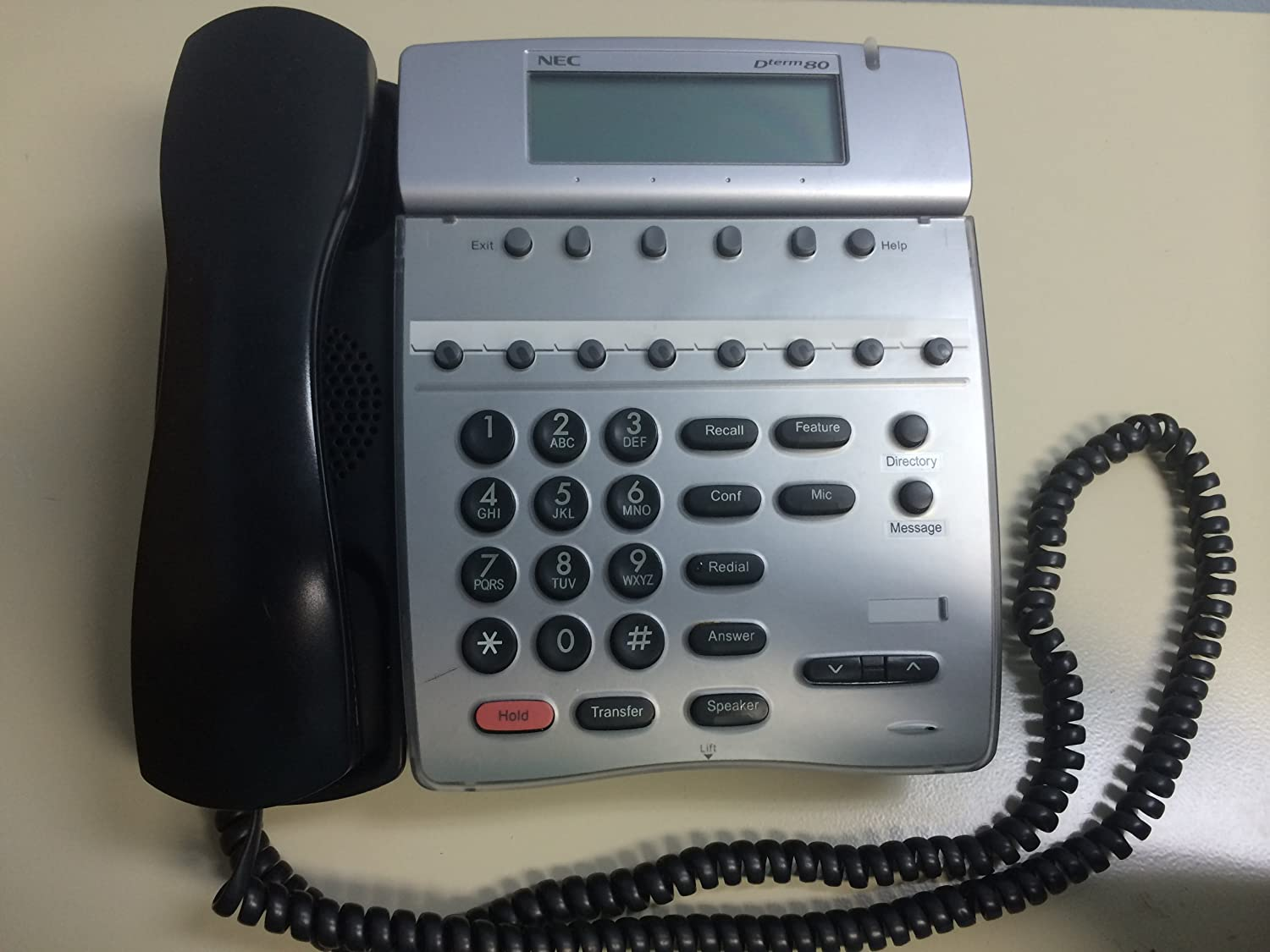 Amazon.com : NEC DTH-8D-2 Phone DTH-8D-2(BK) 780571 : Pbx Telephones And  Systems : Office Products