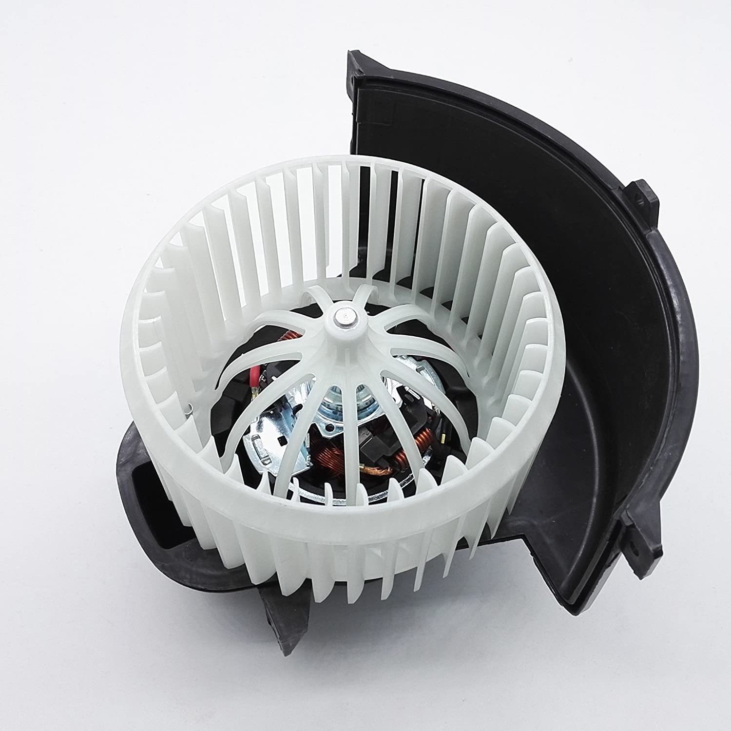 Amazon.com: HVAC Blower Motor Assembly + Cage Front for Audi Q7 VW Touareg Porsche Cayenne: Automotive