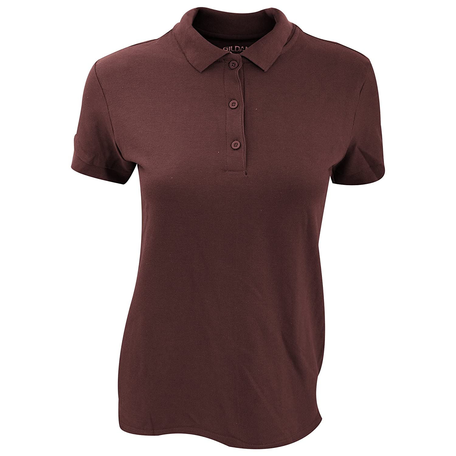 Gildan Womens/Ladies Premium Cotton Sport Double Pique Polo Shirt